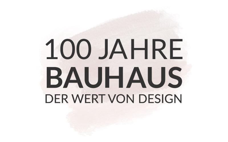 Das Bauhaus feiert Geburtstag