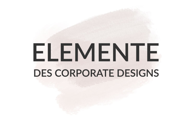 Kreation | Wert des Corporate Designs