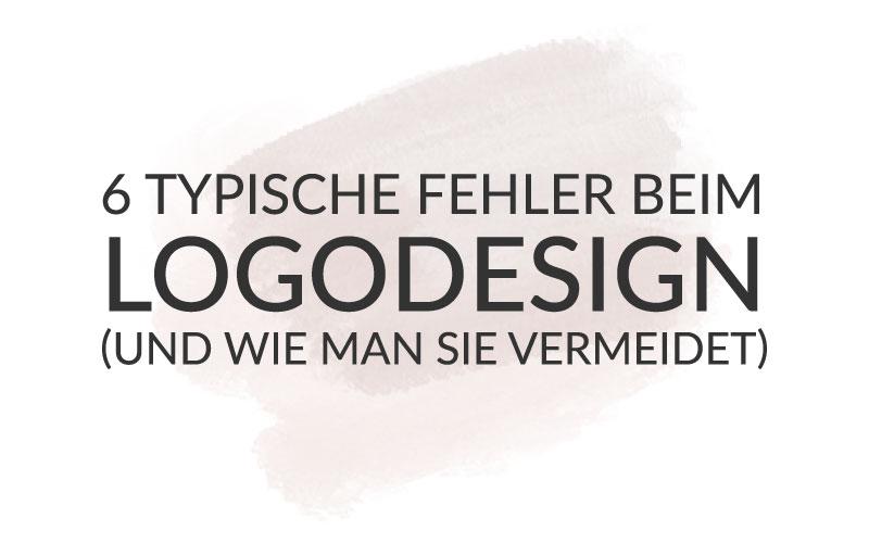 6 typische Fehler beim Logodesign (und wie man sie vermeidet)