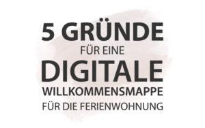 Digitale Willkommensmappe