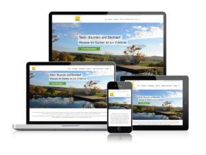 Website-Refresh Wilczek Gärten