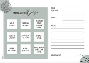 Online-Meeting-Planer