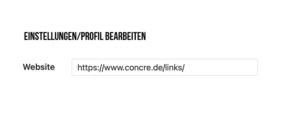Instagram Concre Website Link